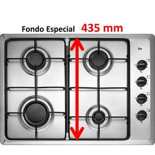 Placa acero Teka HLX504GAL But Inox 'KC
