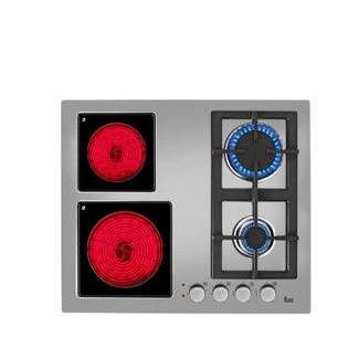 Cemevisa placas mixtas vitro y gas for Cocinas mixtas a gas y electricas